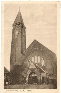 huidige RK kerk grootebroek, oude foto